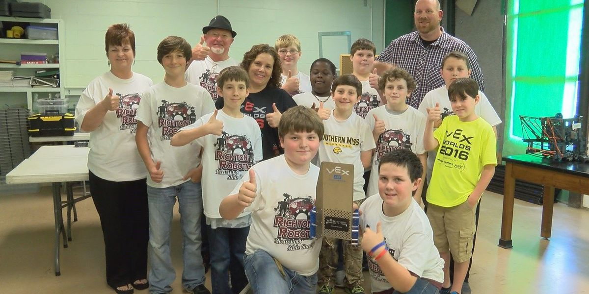 Richton Elementary Robotics Team takes home 'Build' award in world competition