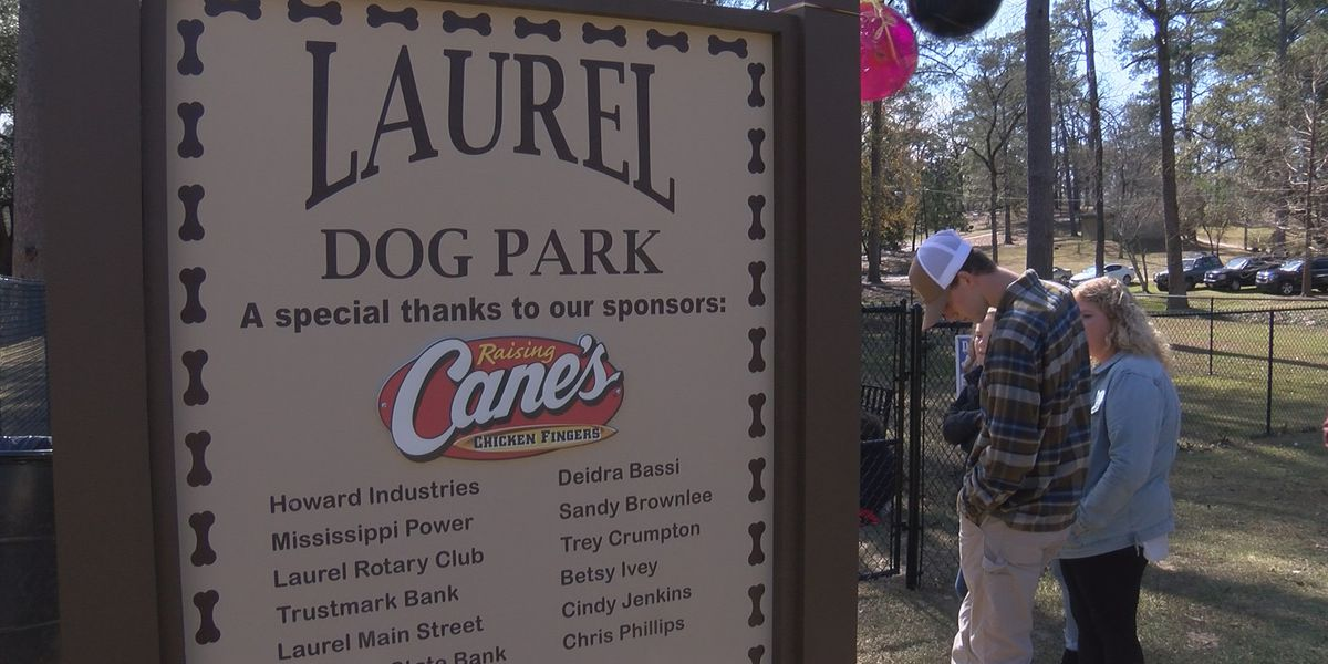 Laurel Dog Park officially opens