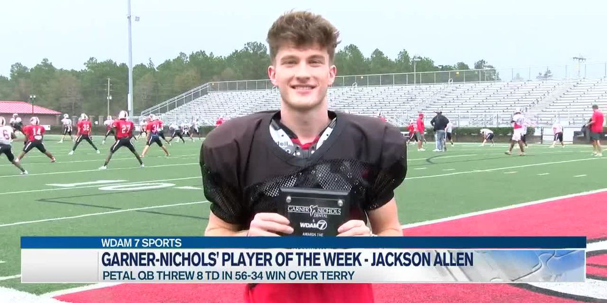 Player of the Week - Petal QB Jackson Allen leads Panthers into 6A playoffs