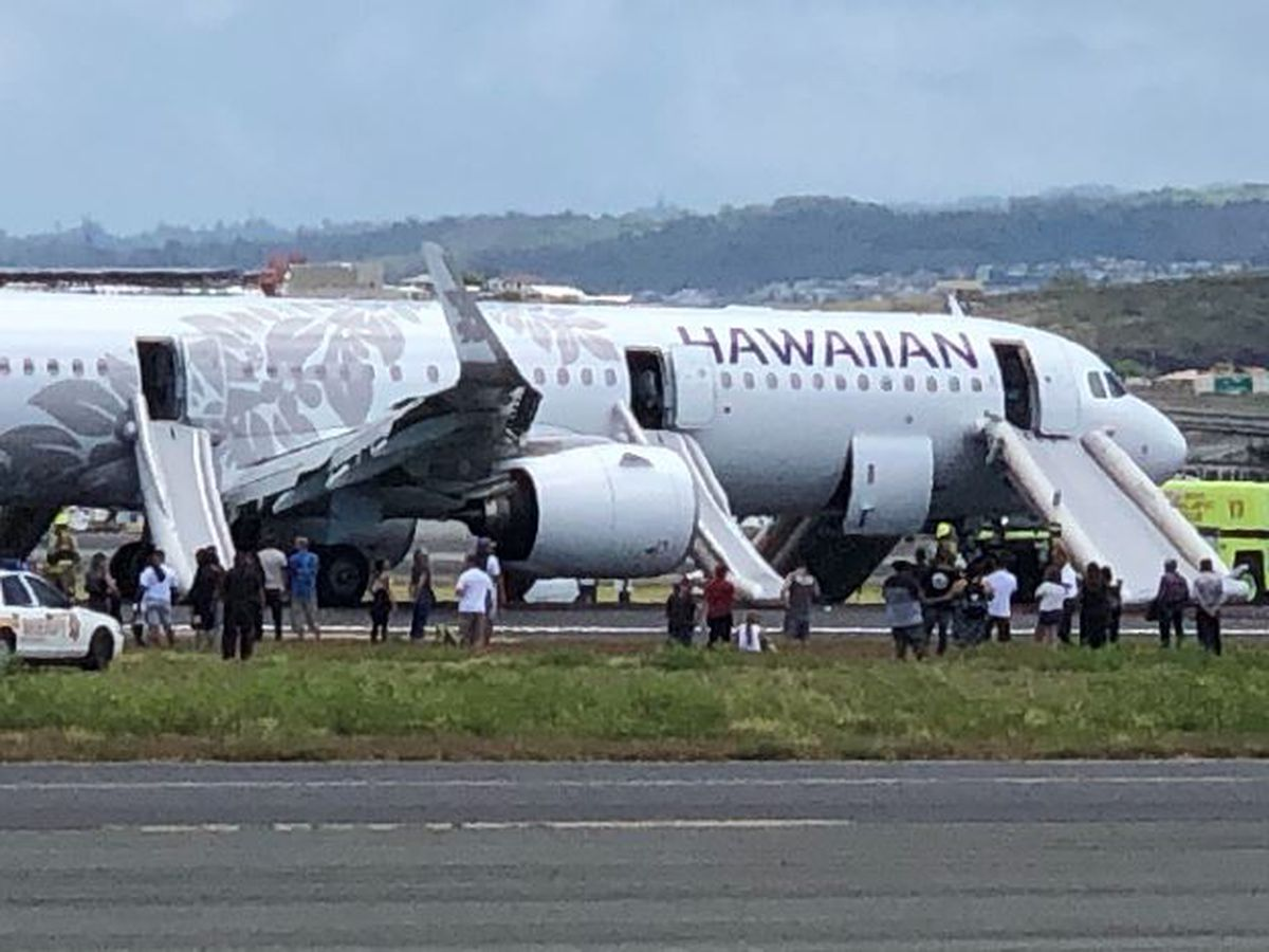 7 taken to hospital after Hawaiian Air plane fills with smoke before making emergency landing