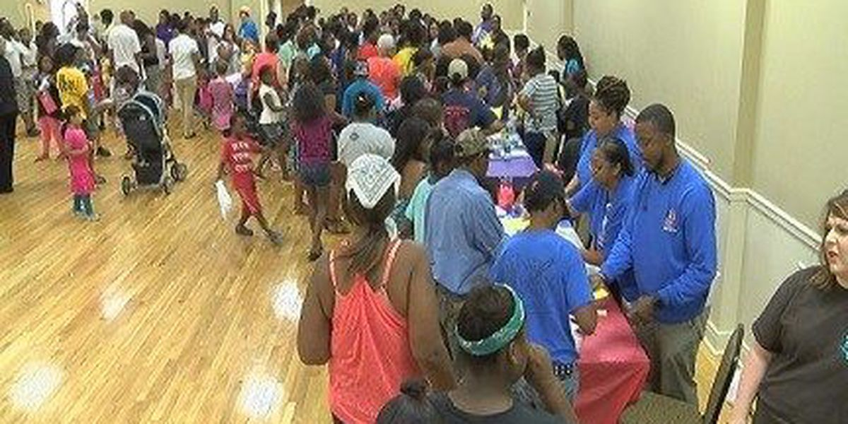 Hattiesburg Schools host back-to-school rally