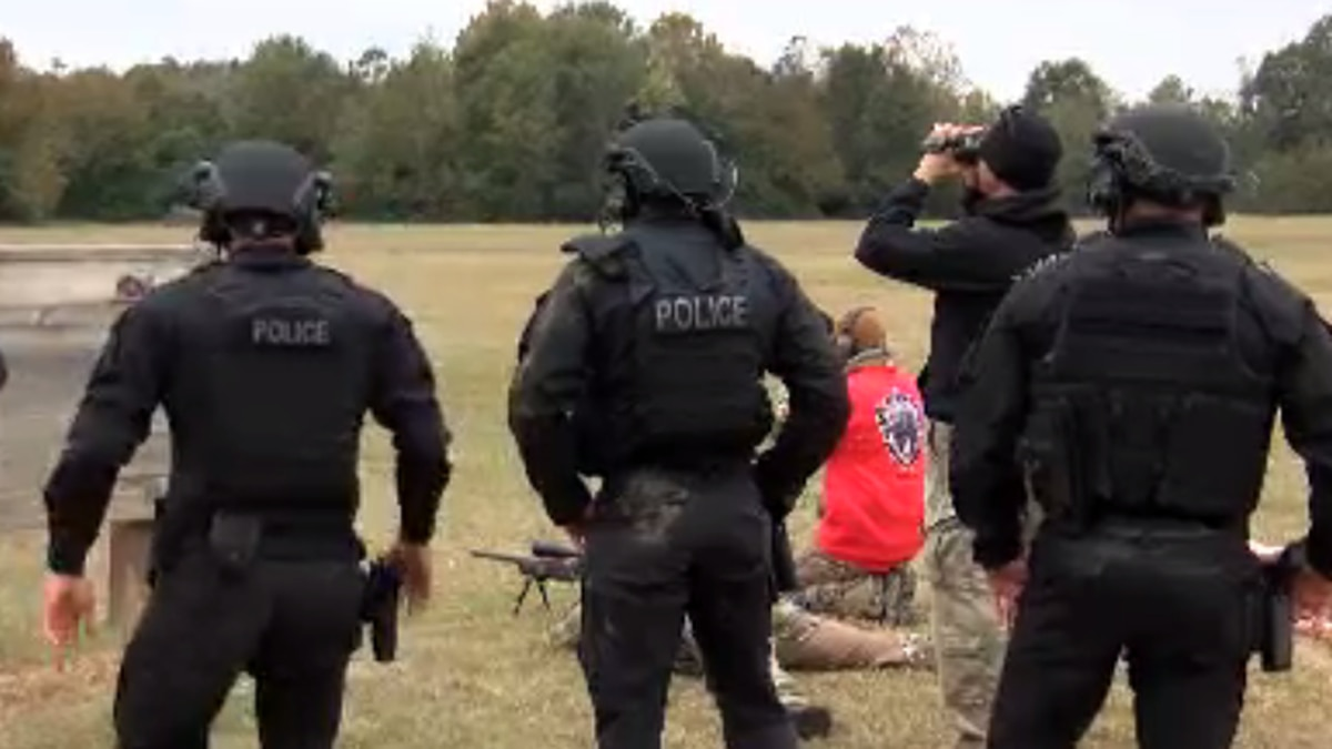 Petal Police Department hosts SWAT competition