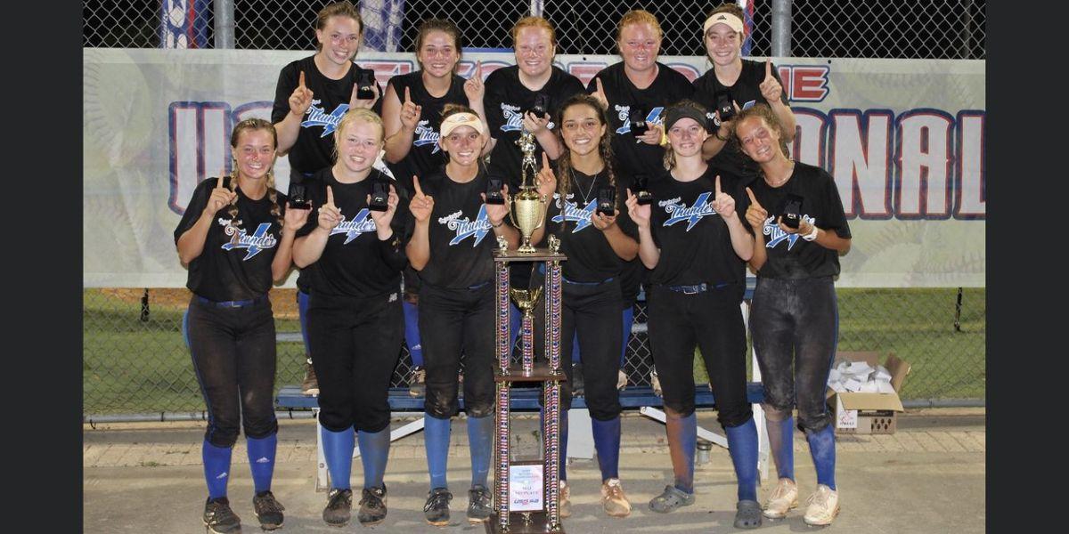 Local softball team takes national title