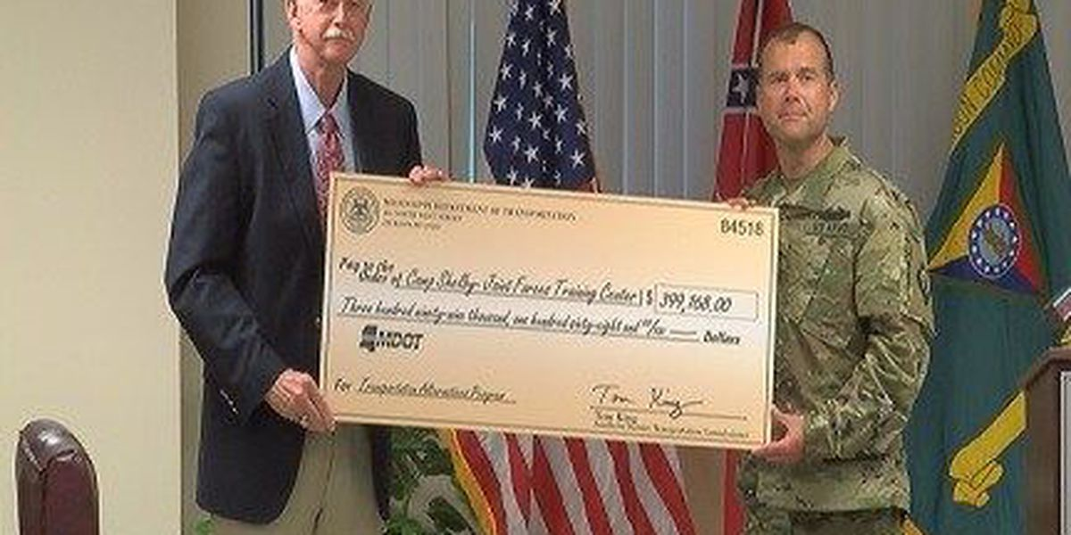 """Camp Shelby to get """"Rails to Trails"""""""