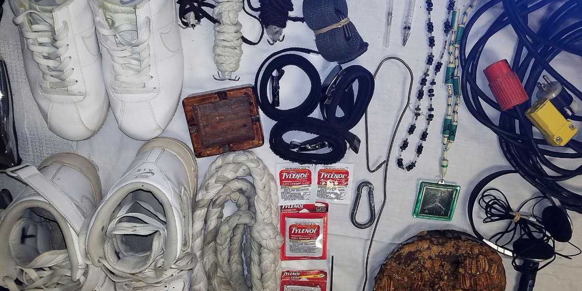 Contraband found at Parchman work camp