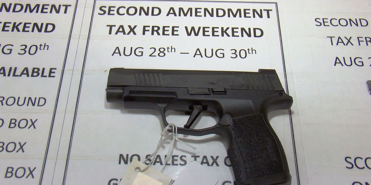 Mississippi's tax-free Second Amendment Weekend coming up