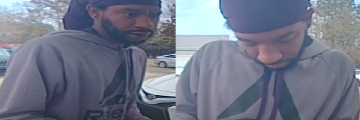 HPD searching for person of interest in credit card fraud case