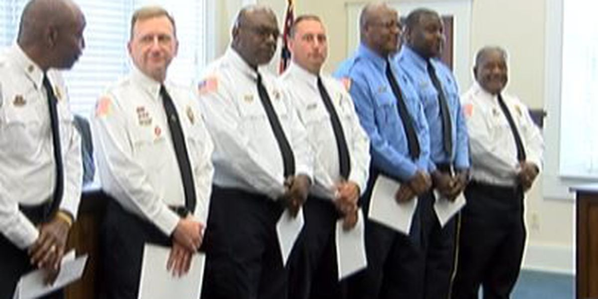 Laurel Fire Dept. promotes and welcomes new firefighters