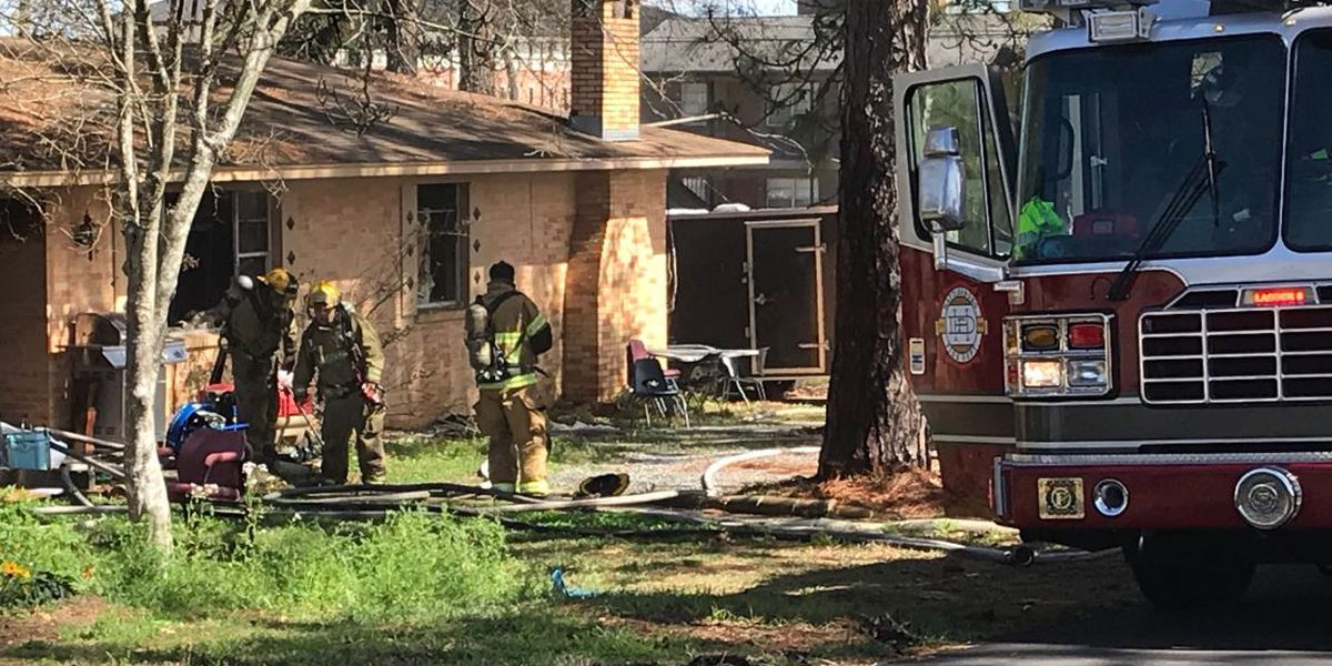 Downed power line damages Hattiesburg home