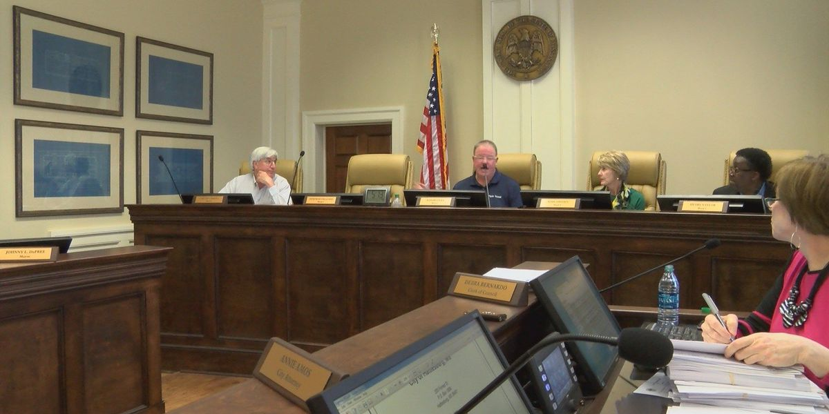 Hattiesburg city council discusses wastewater and sewer funding