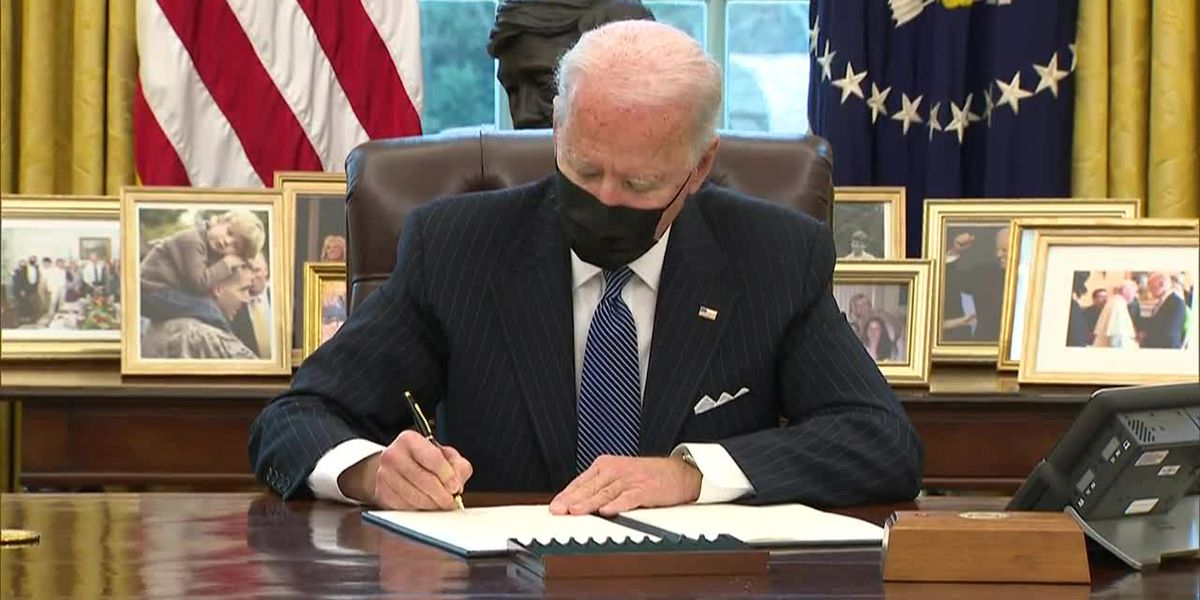 Biden repeals transgender ban