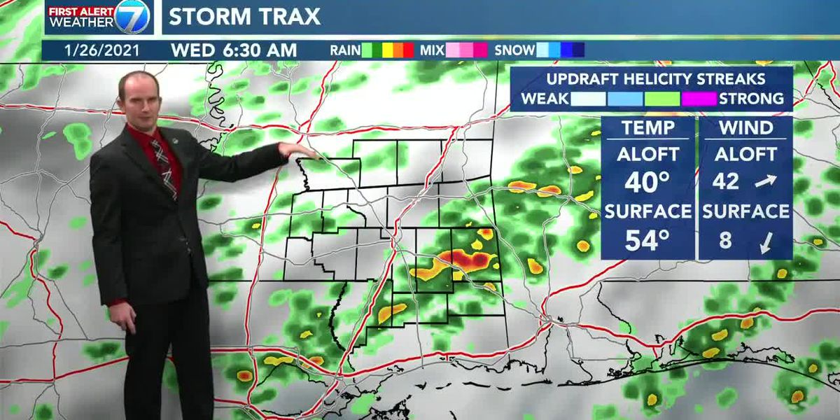 Expect scattered thunderstorms overnight