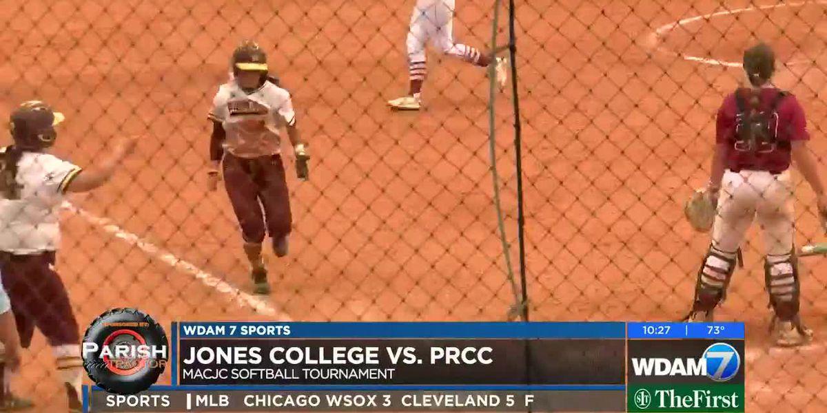 PRCC upsets Lady Bobcats, Jones baseball grabs win