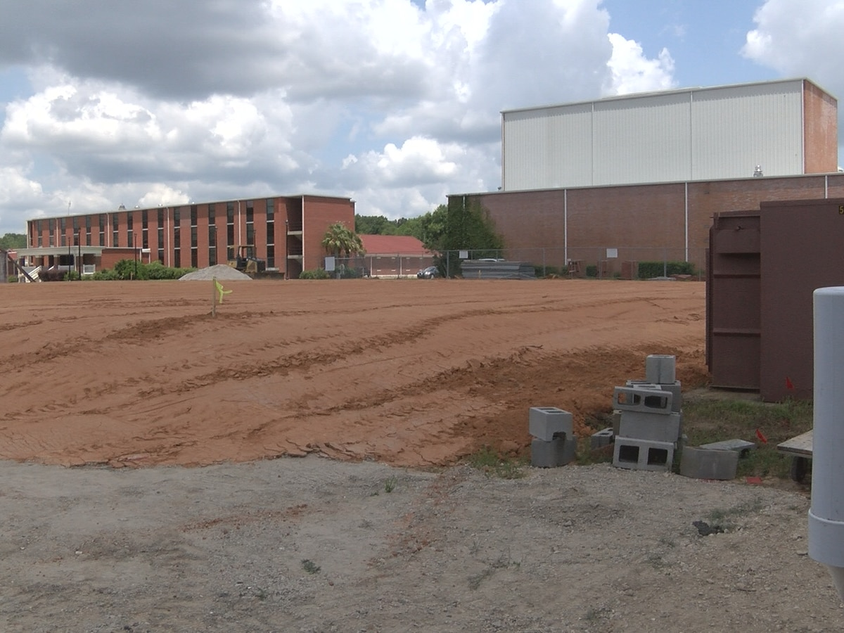 WCU begins site work for new student center