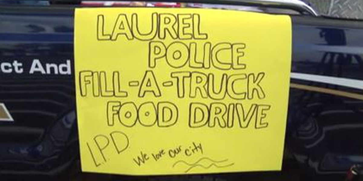 Laurel PD holding annual food drive Saturday