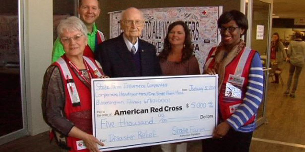 State Farm donates to the American Red Cross