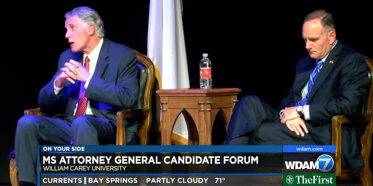 Attorney General candidate forum hosted by William Carey