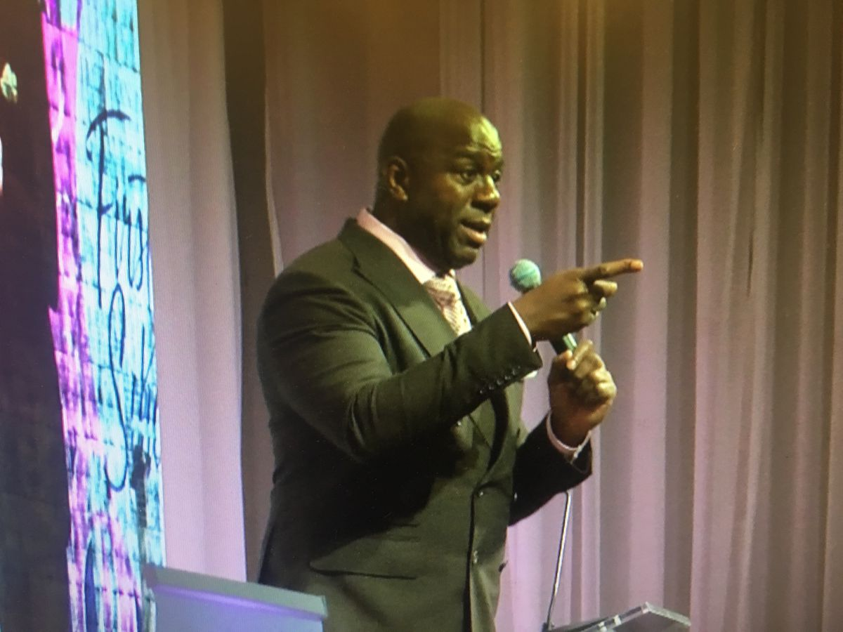 NBA legend Magic Johnson raised and donated more than $100K for 'well deserving' JSU students