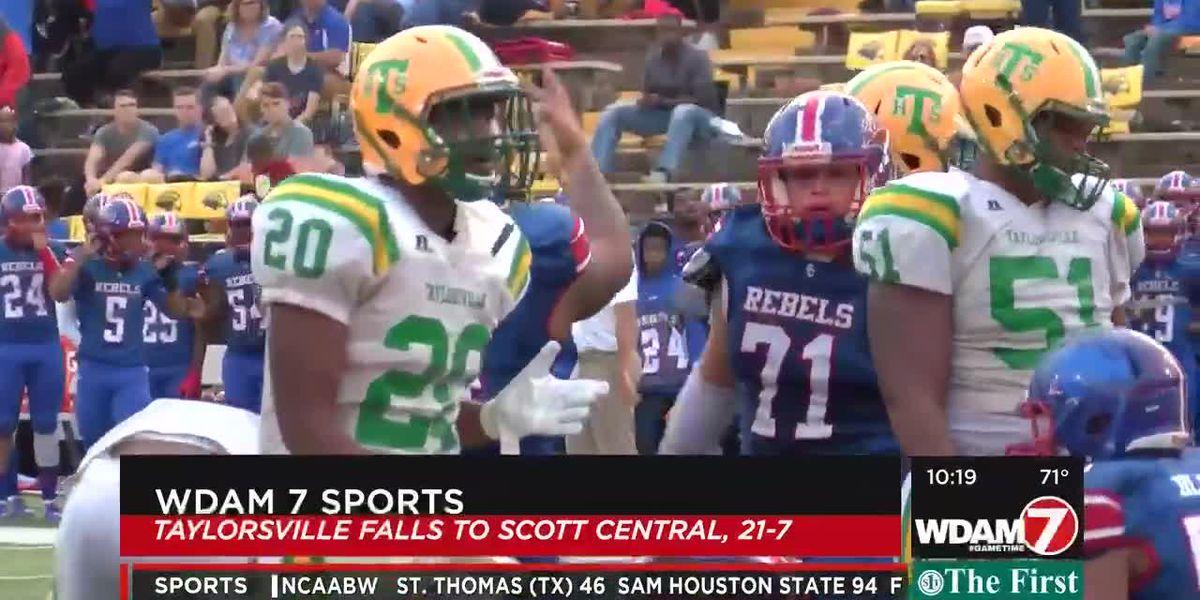 Scott Central wears down Taylorsville, 21-7