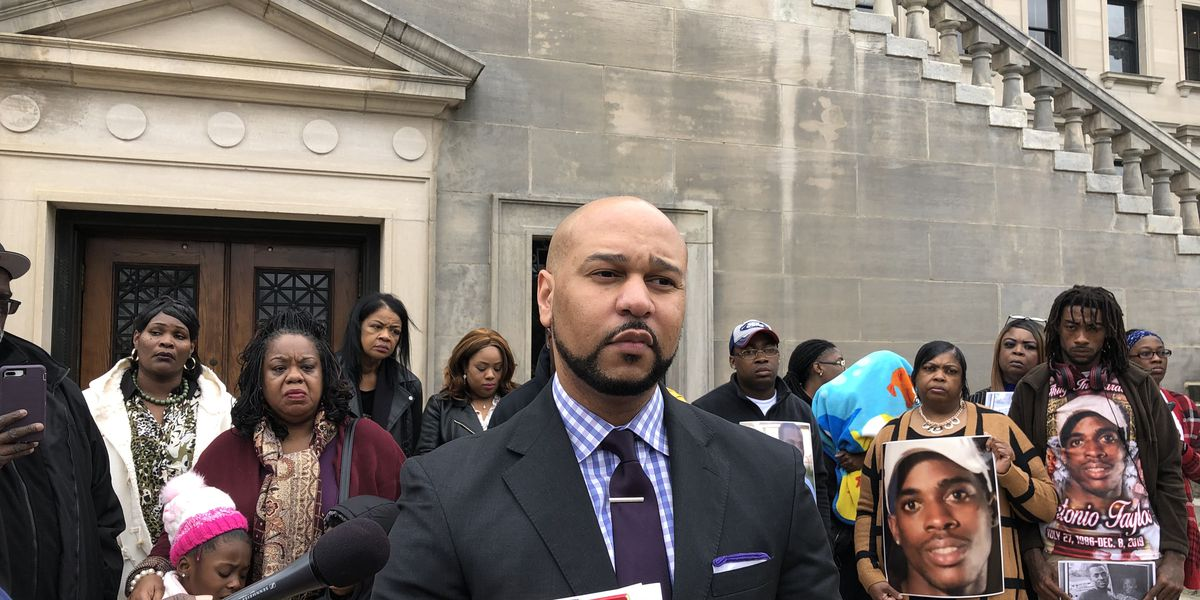 Families of MDOC inmates rally for improvements while filing suit against the prison system after recent violence