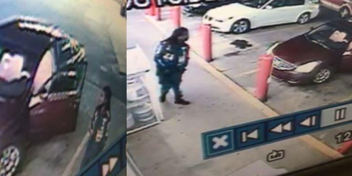 HPD locates vehicle in grand larceny case, suspect still sought
