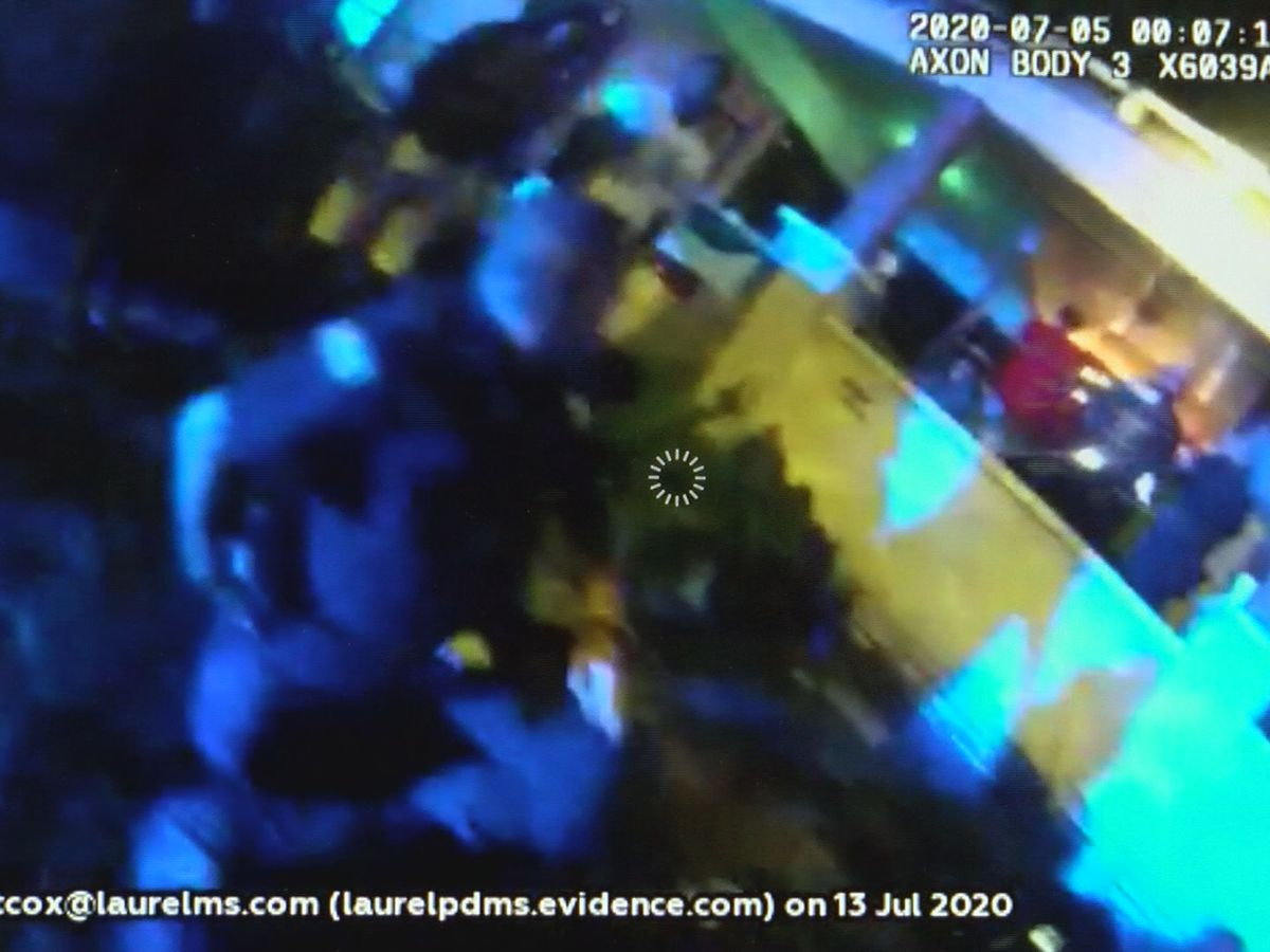 Laurel police release body cam footage from July 4 noise call