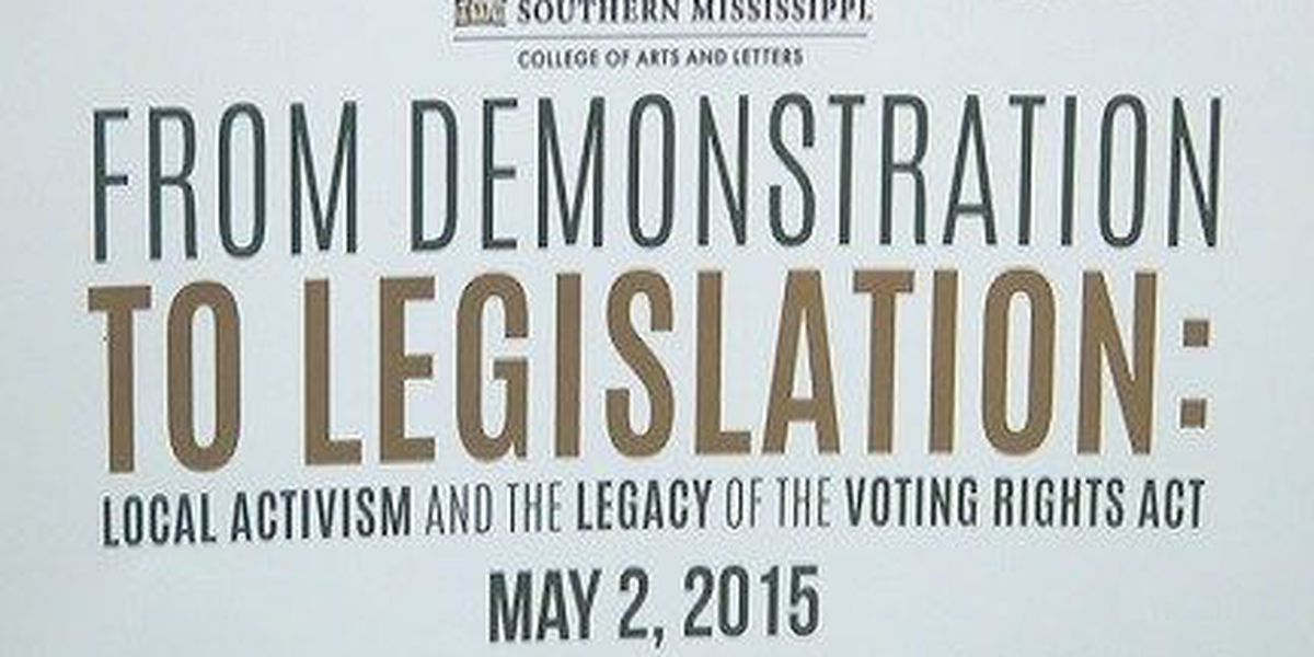 USM to commemorate 50th anniversary of Voting Rights Act Saturday