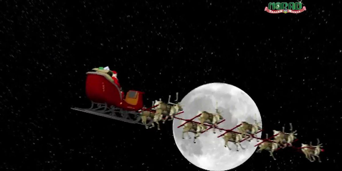 It's Christmas Eve: Here's how to track Santa