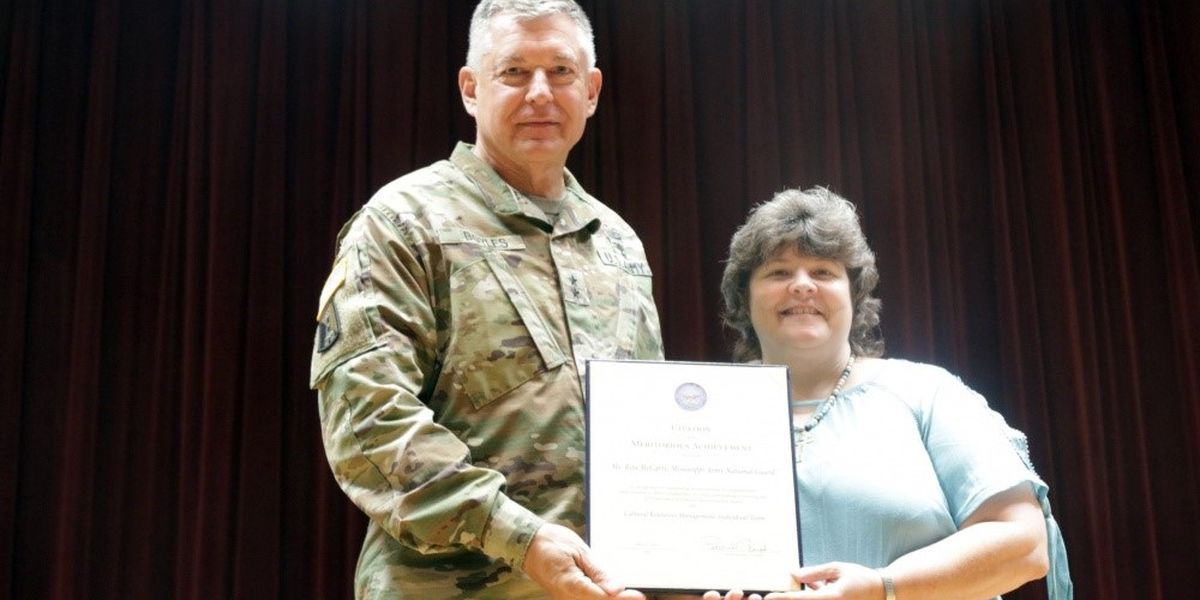Camp Shelby environmentalist gets top award from Sec. of Defense