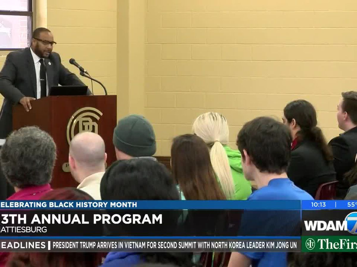 Hattiesburg councilman speaks at PRCC Black History Month program