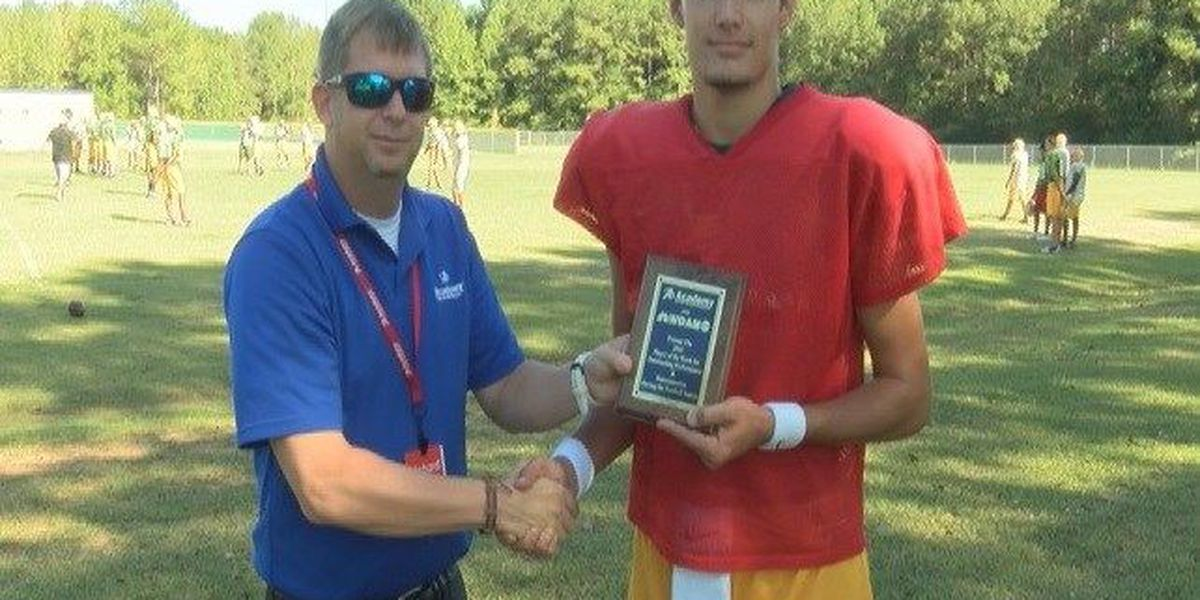 Taylorsville's Boykin Named Player of the Week