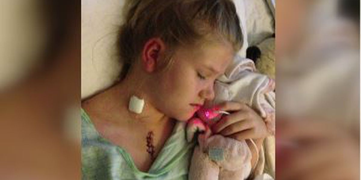 Lamar Co. dad says blood donations are critical for daughter's heart surgeries
