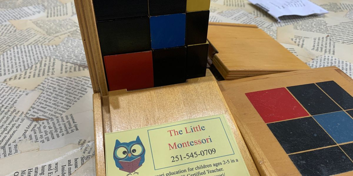 Little Montessori holds event teaching kids with Montessori style