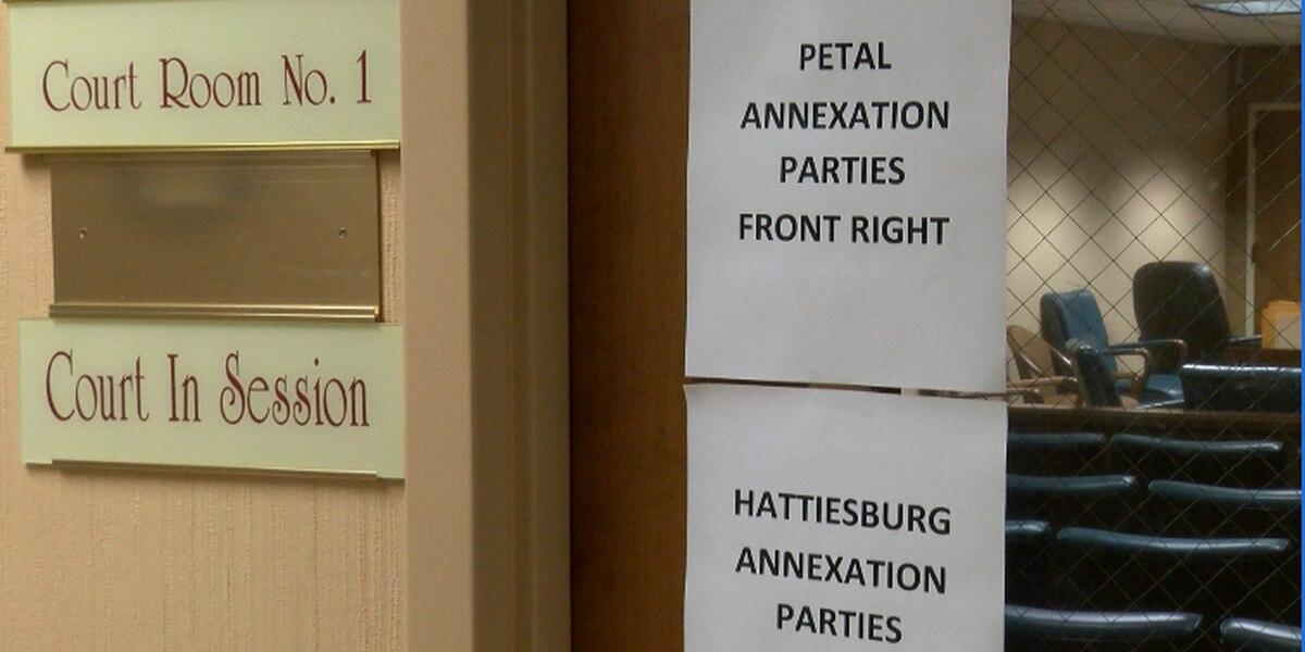 Hattiesburg, Petal annexation cases heard in Forrest County
