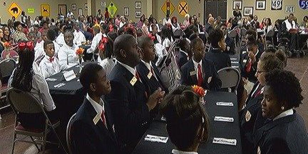 "Burger Middle School hosts ""Jobs for Mississippi Graduates"" ceremony"