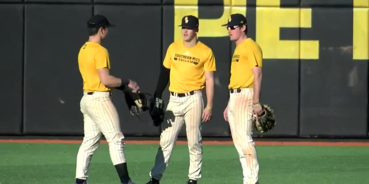 USM baseball breaks in new turf field