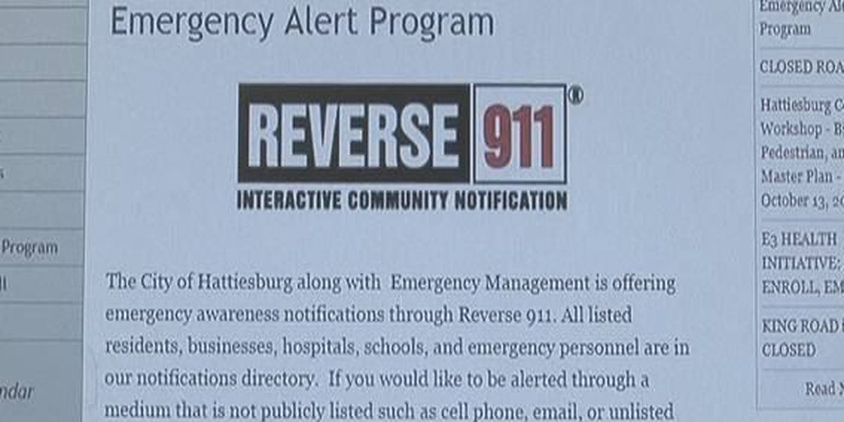 Hattiesburg and Forrest County introduce new enhanced reverse 911 system