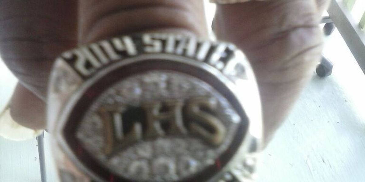 Couple finds championship ring, needs help finding owner