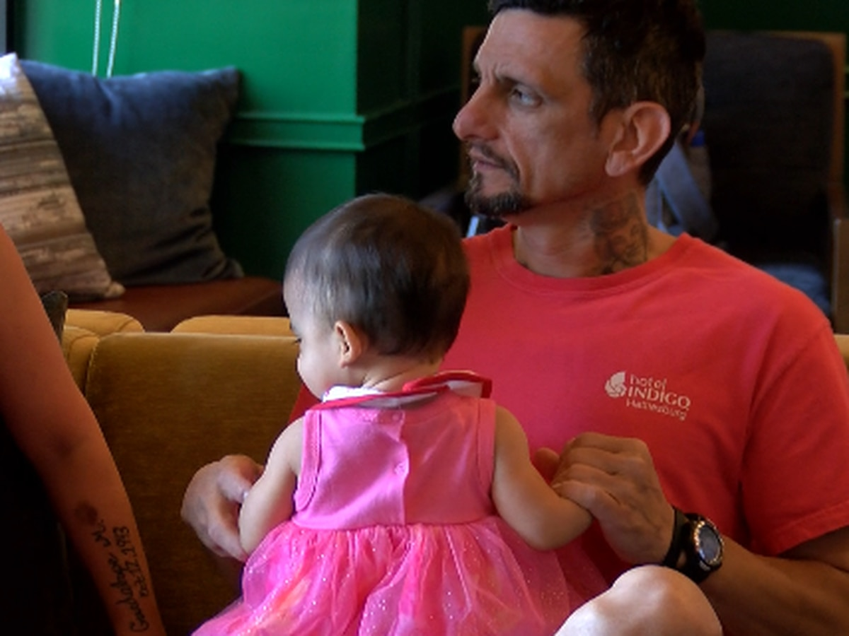 Cancer fighter gets special Father's Day benefit