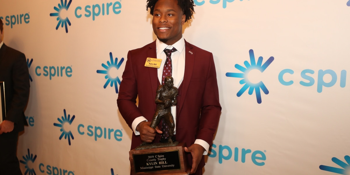 MSU's Hill takes home 2019 Conerly Trophy