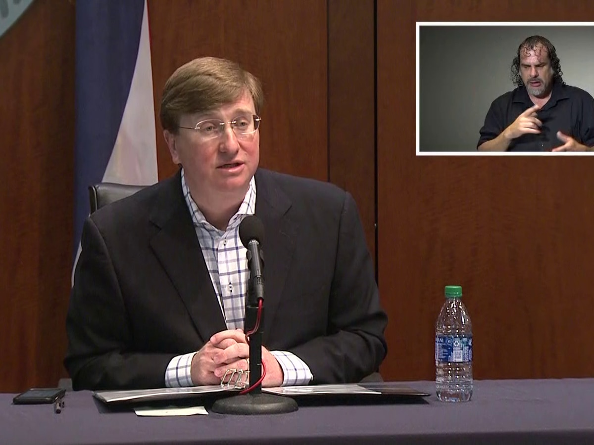 WATCH: Gov. Reeves gives daily briefing on COVID-19