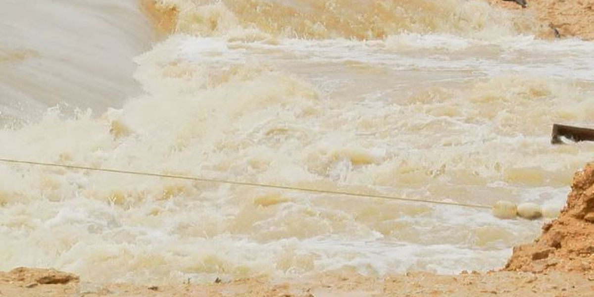 Some roads remain closed in Jones Co. after floods