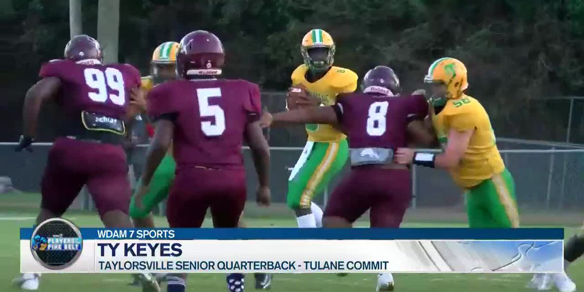 Players of the Pine Belt: Taylorsville quarterback Ty Keyes