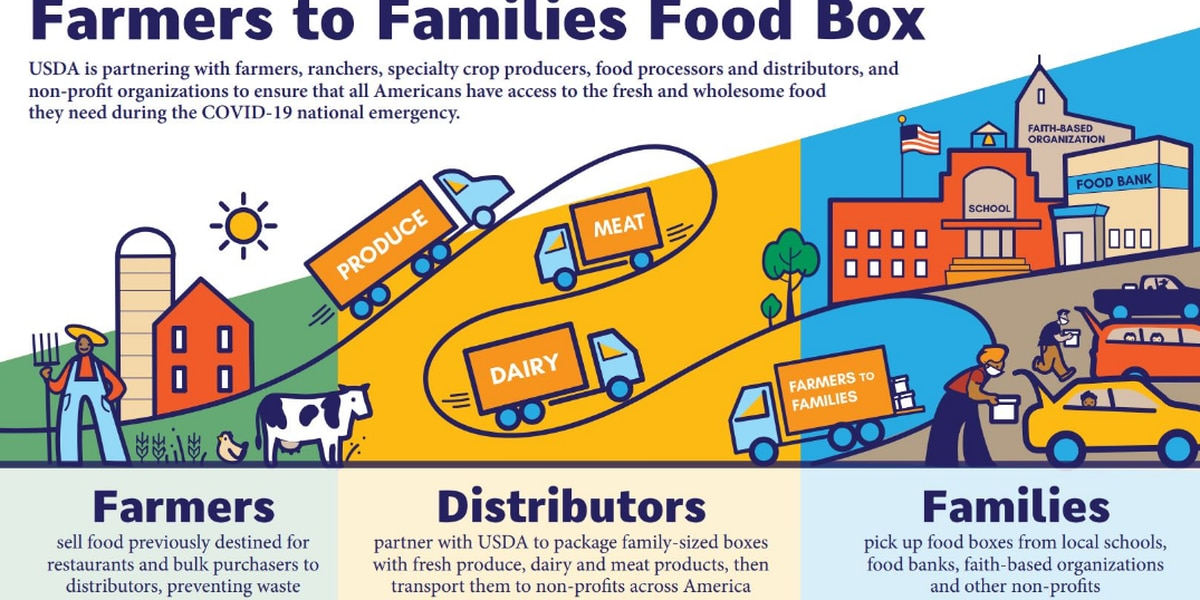 Hattiesburg-based company awarded $10.3M Farmers to Families Food Box contract