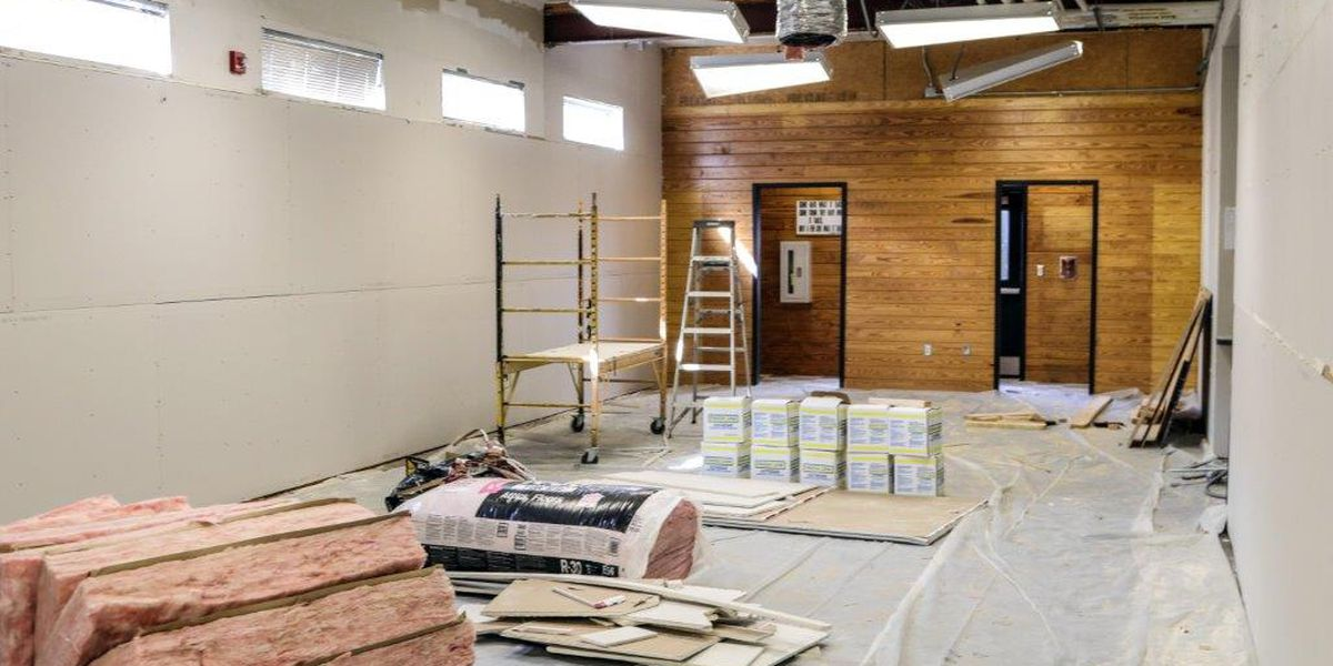 USM baseball renovating locker room