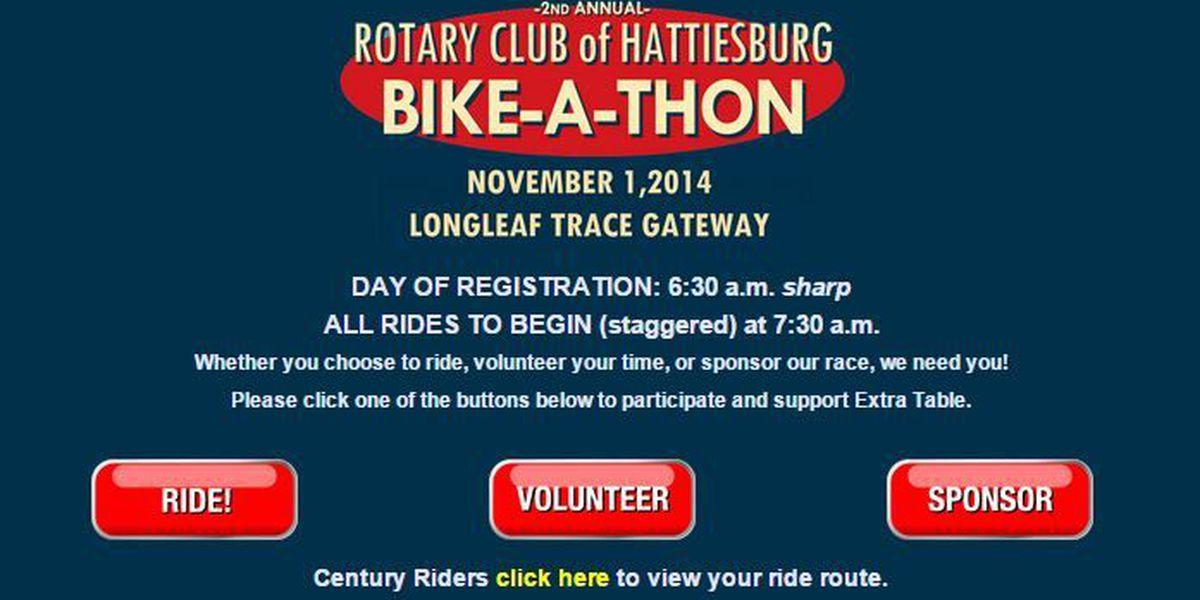 Hattiesburg Rotary Club hosts bike-a-thon