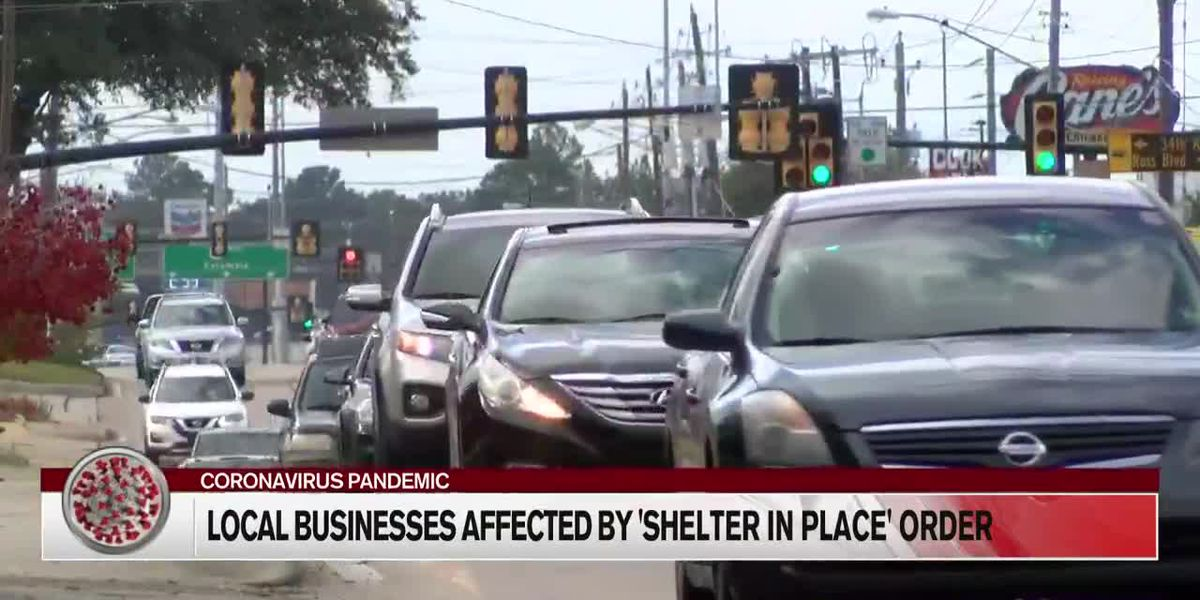 Pine Belt business reacts to shelter-in-place order