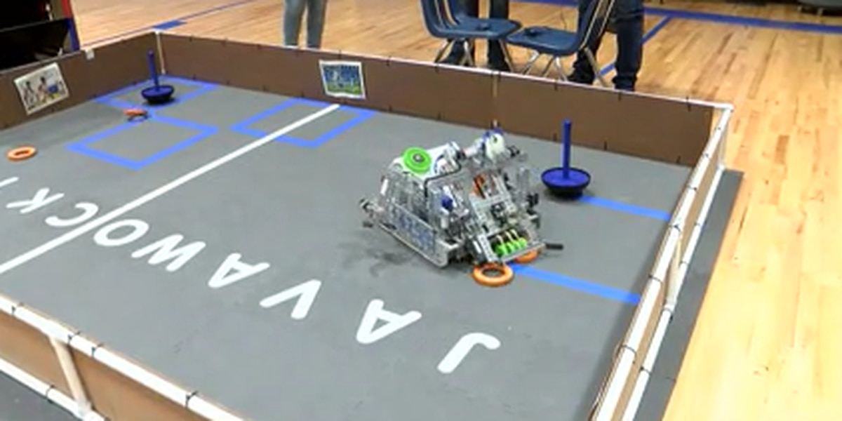 Laurel Christian robotics team places 4th in state