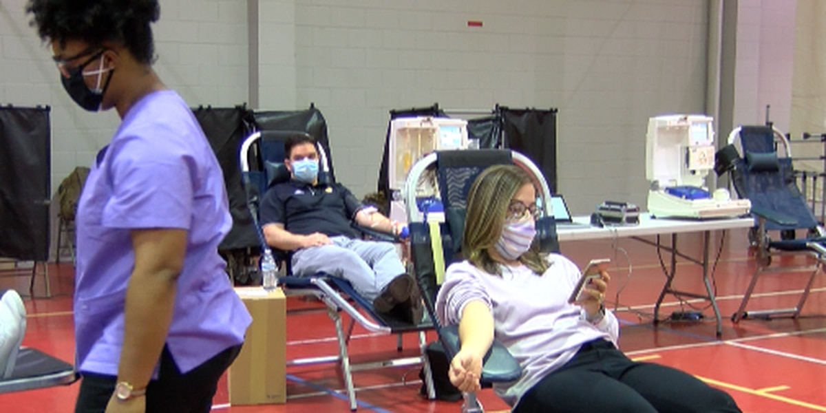Donating blood is critical during the pandemic