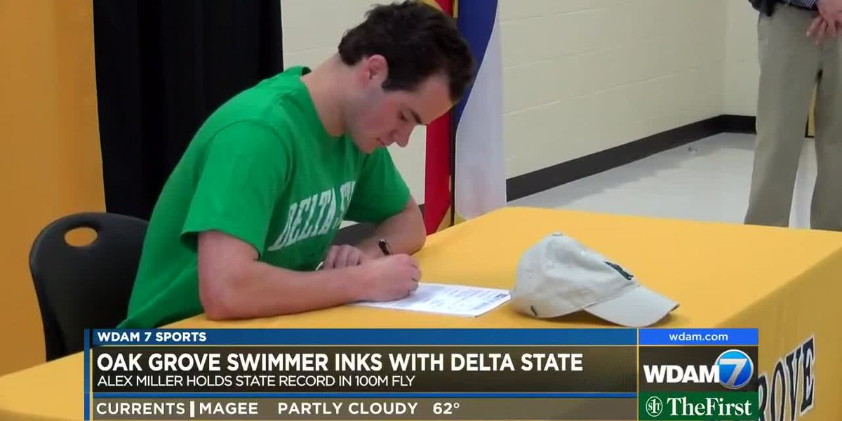 Oak Grove's Alex Miller signs with Delta State